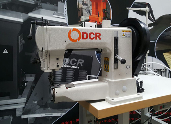 Photo of an DCR 205-370- Industrial Heavy Duty Cylinder Arm  Industrial Sewing Machines