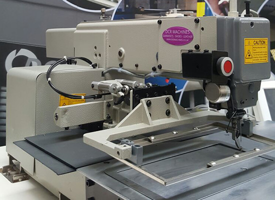 Photo of an DCR CPS- Computer Pattern Stitcher sewing machine Industrial Sewing Machines