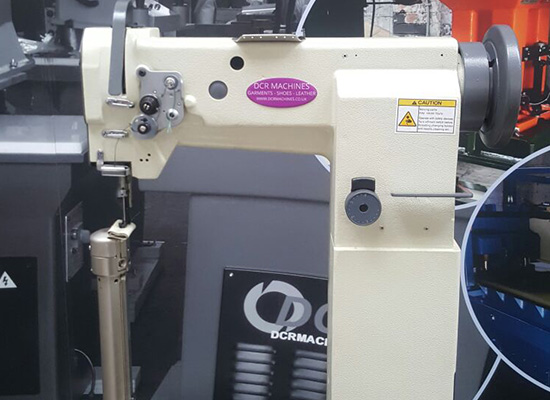 Photo of an DCR HPL1- Industrial High Left Post Bed Sewing Machine Industrial Sewing Machines