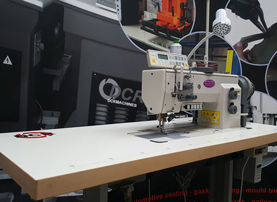 Photo of an DCR 155 INDUSTRIAL WALKING FOOT SEWING MACHINE Industrial Sewing Machines