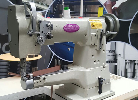 Photo of an DCR 335 INDUSTRIAL CYLINDER ARM SEWING MACHINE Industrial Sewing Machines