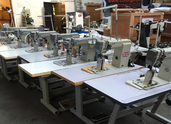 Photo of an DCR 491- Post Bed Sewing Machine Industrial Sewing Machines