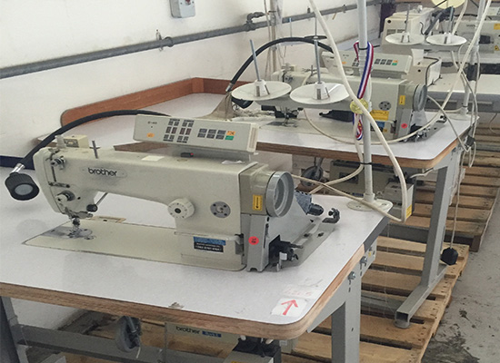 Photo of an Brother Flat Bed single needle flat bed industrial sewing machine Industrial Sewing Machines
