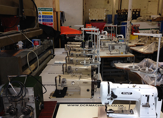 Photo of an PFAFF 1445 heavy duty walking foot industrial sewing machine Industrial Sewing Machines