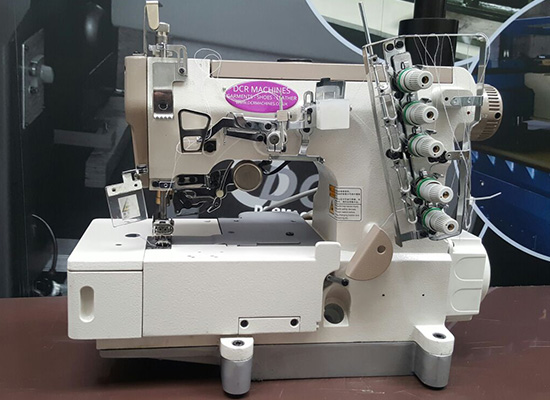 Photo of an DCR CSF- Flat Bed Cover Seam Industrial Sewing Machines