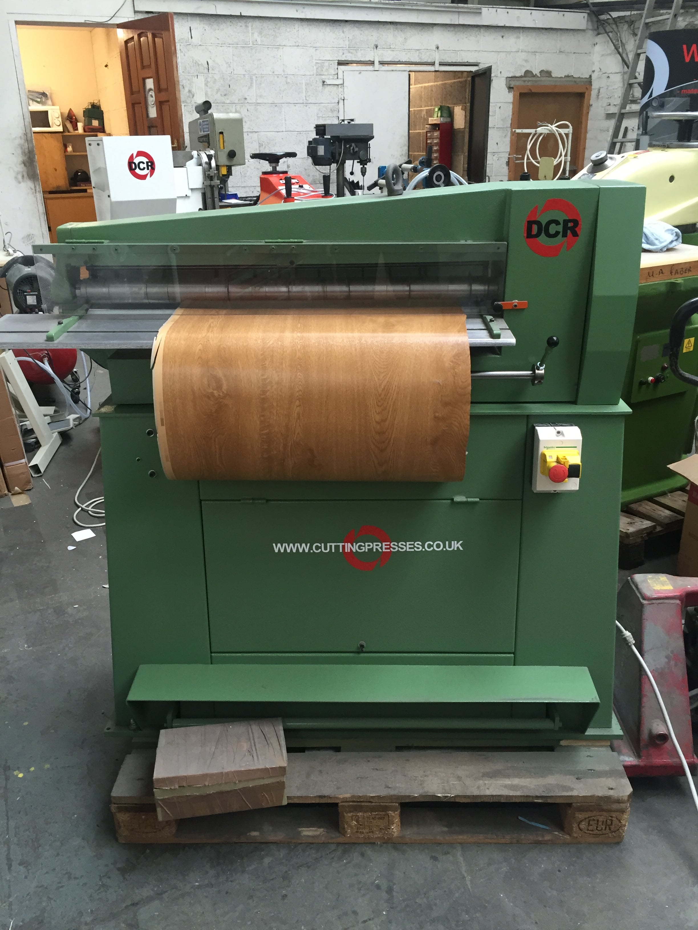 Photo of an DCR SC1000- Strip Cutter 1000mm Industrial Sewing Machines