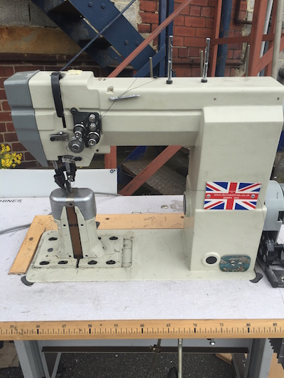 Photo of an DCR 474 Twin Needle Post Bed Industrial Sewing Machine Industrial Sewing Machines
