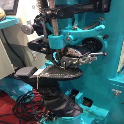 Photo of an DCR GWS- Goodyear Welt Boot Sole Stitcher Industrial Sewing Machines