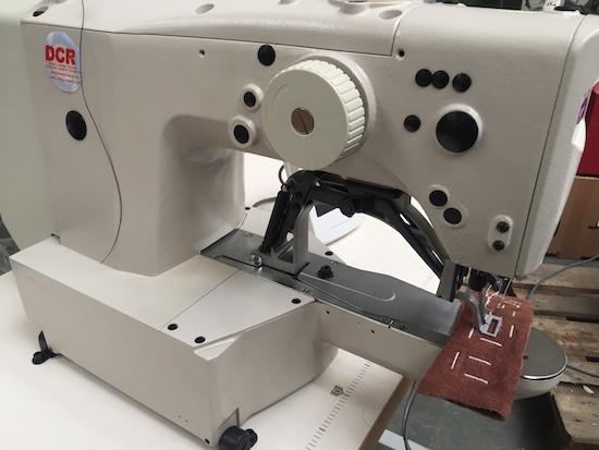 Photo of an DCR BT- Industrial Bar Tacker Sewing Machine  Industrial Sewing Machines