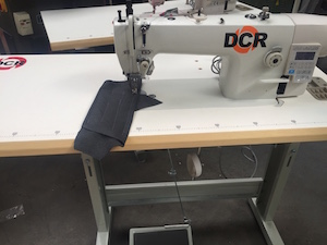 Photo of an DCR HFDD1-300- Single Needle Lockstitch Heavy Duty Industrial Sewing Machines