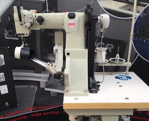 Photo of an DCR SW1- Industrial Side Wall Stitching machine Industrial Sewing Machines