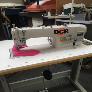 Photo of an DCR FBDD1- Single Needle Lockstitch Direct Drive Industrial Sewing Machines