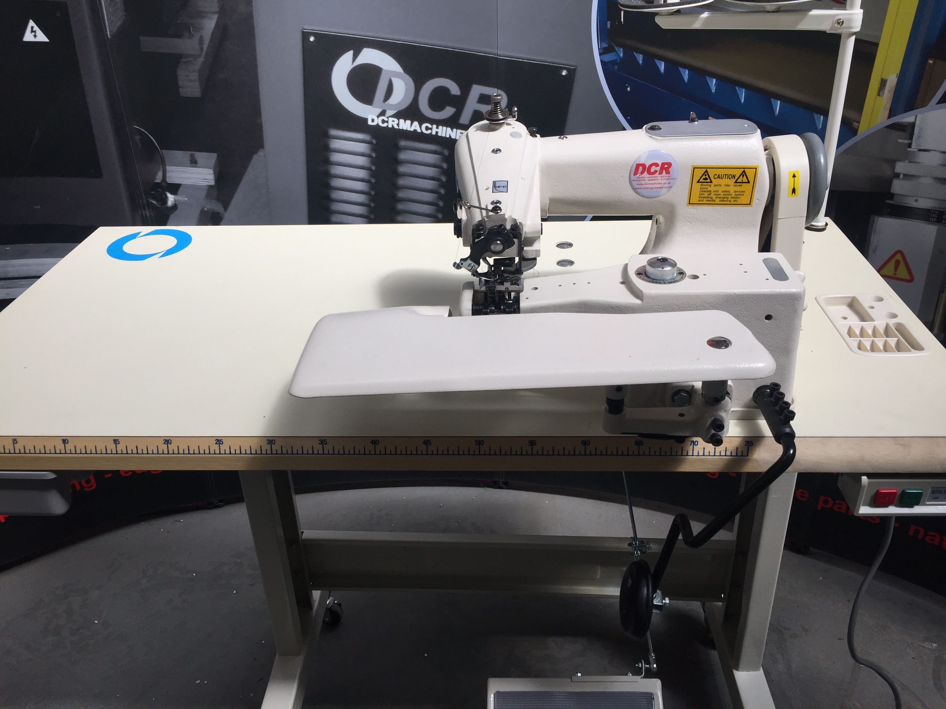 Photo of an DCR BLS1- Industrial Blind Stitch Sewing Machine  Industrial Sewing Machines