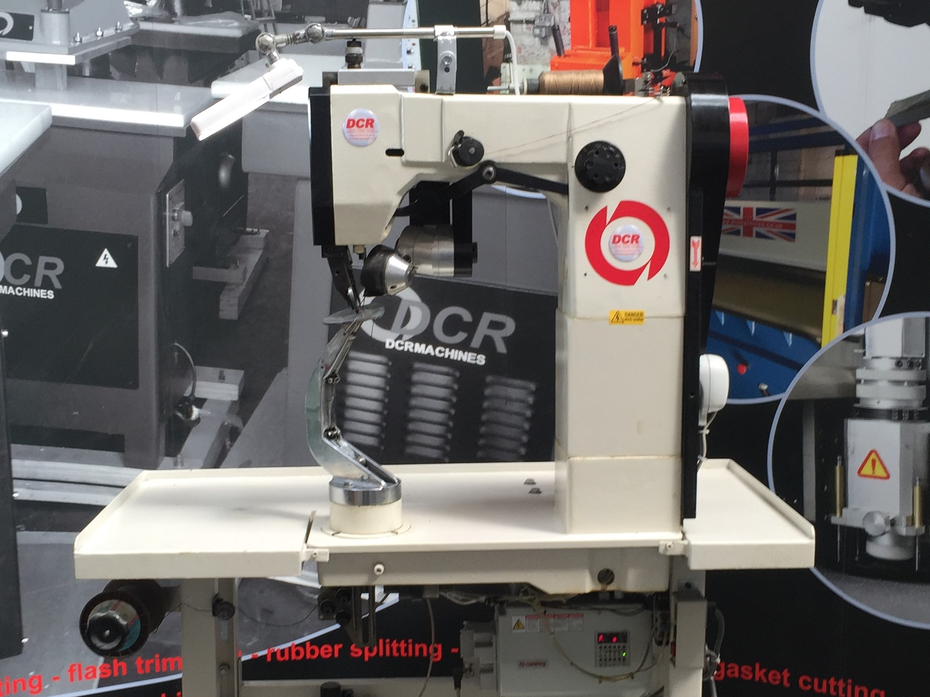 Photo of an DCR SS1 sole stitching machine Industrial Sewing Machines