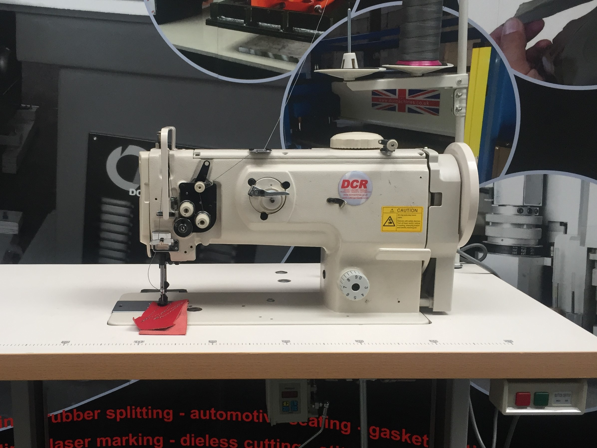 Photo of an DCR HD1- Heavy Duty Single Needle Walking Foot Sewing Machine  Industrial Sewing Machines