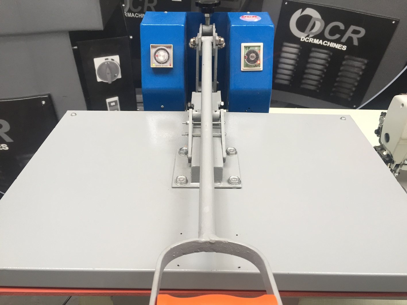 Photo of an DCR HTP- Heat Transfer Press Industrial Sewing Machines