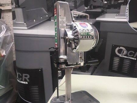 Photo of an WOLF SKC- Straight Knife Cutter Industrial Sewing Machines