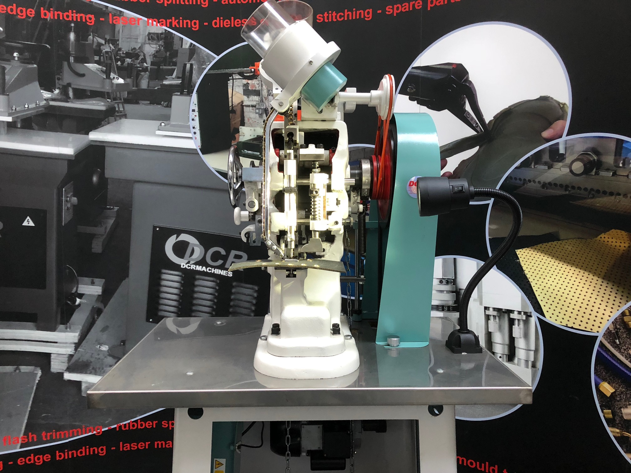 Photo of an DCR SEM - STANDARD EYELET MACHINE Industrial Sewing Machines