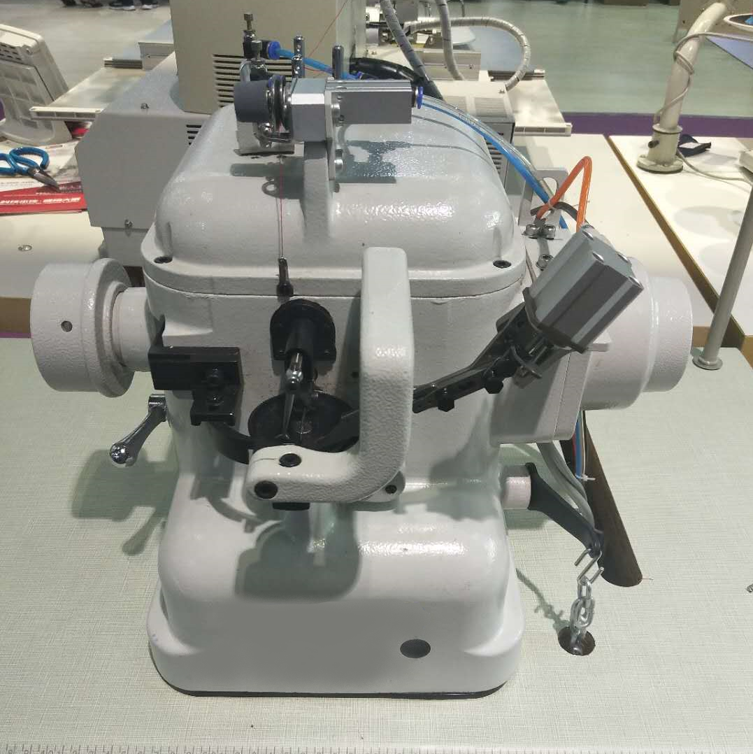 Photo of an DCR CSS- Industrial Cup Seam Strobel sewing machine Industrial Sewing Machines