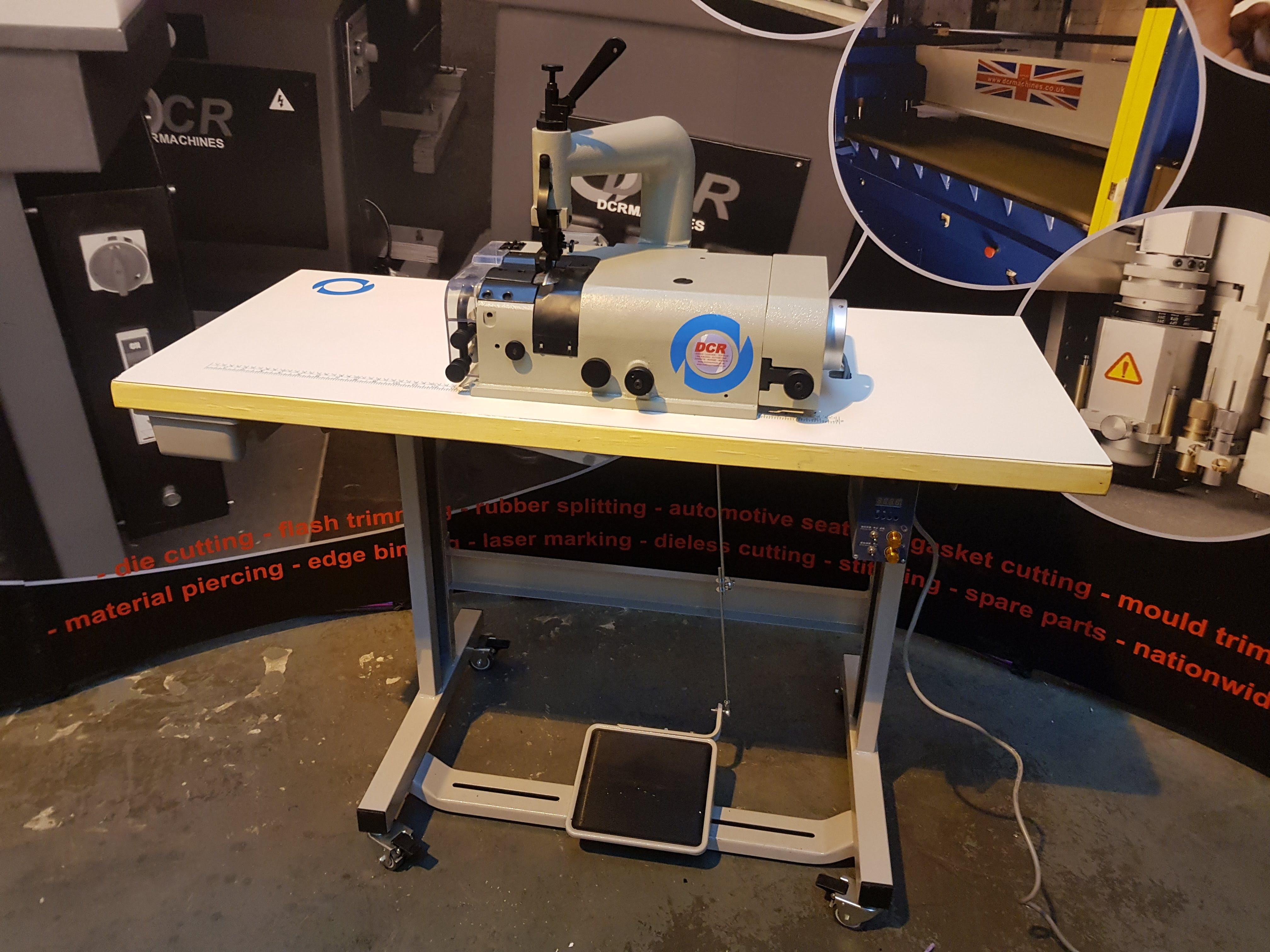 Photo of an DCR SK50-DD Direct Drive Industrial Sewing Machines