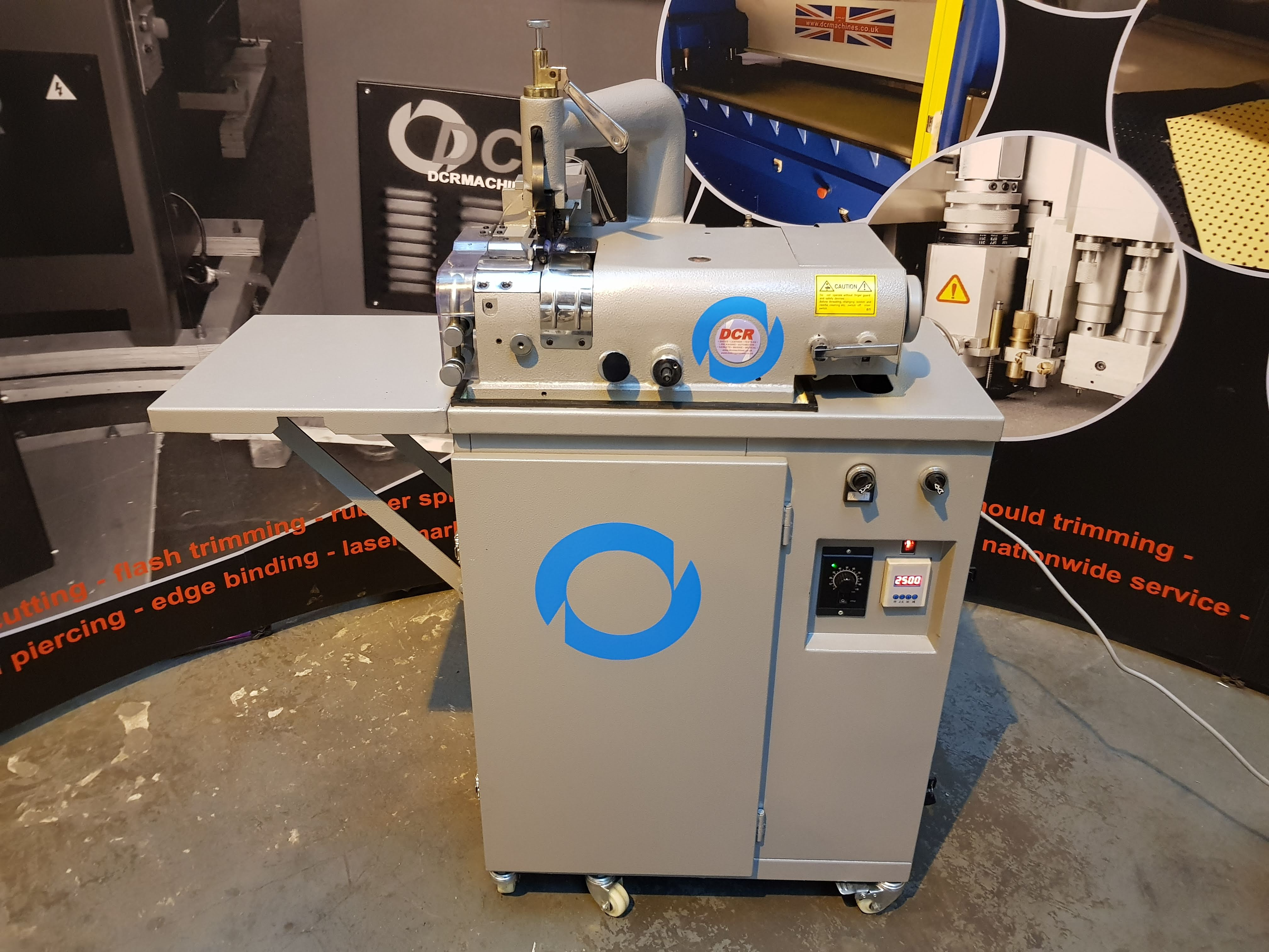 Photo of an DCR SK50-HD Heavy Duty Top Feed Industrial Sewing Machines