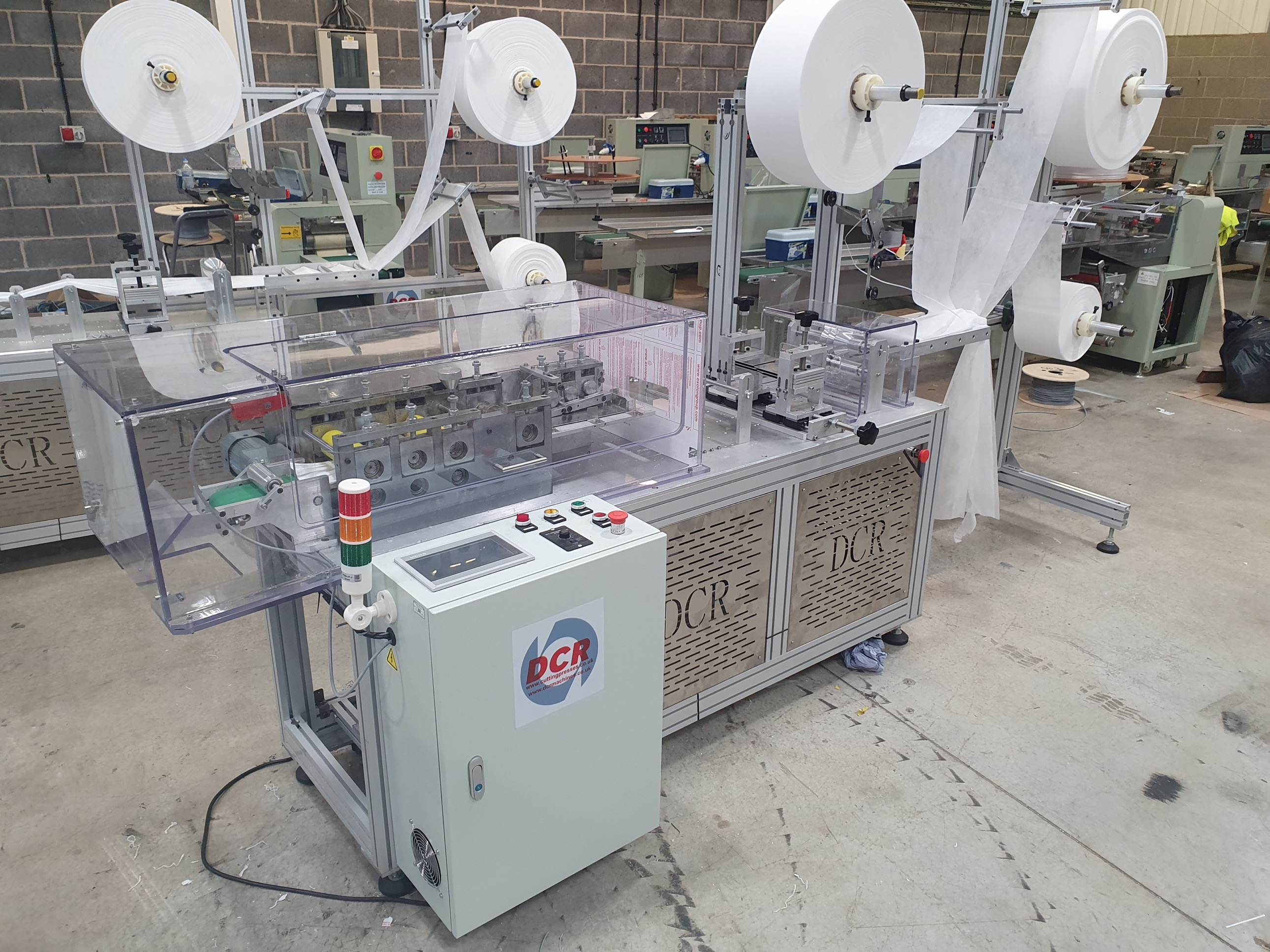 Photo of an DCR-MMM150 PPE MASK MAKING MACHINE Industrial Sewing Machines