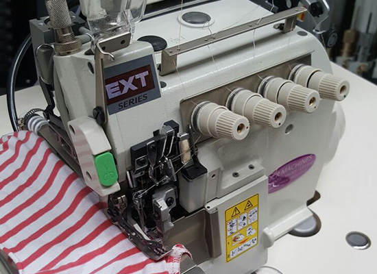 Photo of an DCR EXT- Industrial high speed EXT Overlock PPE Industrial Sewing Machines