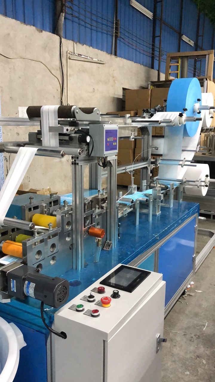 Photo of an DCR-MMM200 MASK MAKING MACHINE 200/M Industrial Sewing Machines